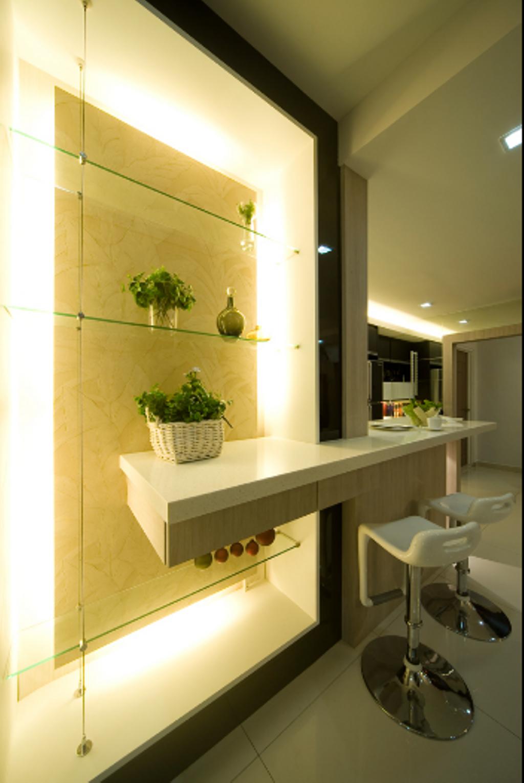 Modern, Landed, Loke House Kajang, Interior Designer, Turn Design Interior, Contemporary, Indoors, Interior Design, Chair, Furniture, Dining Room, Room