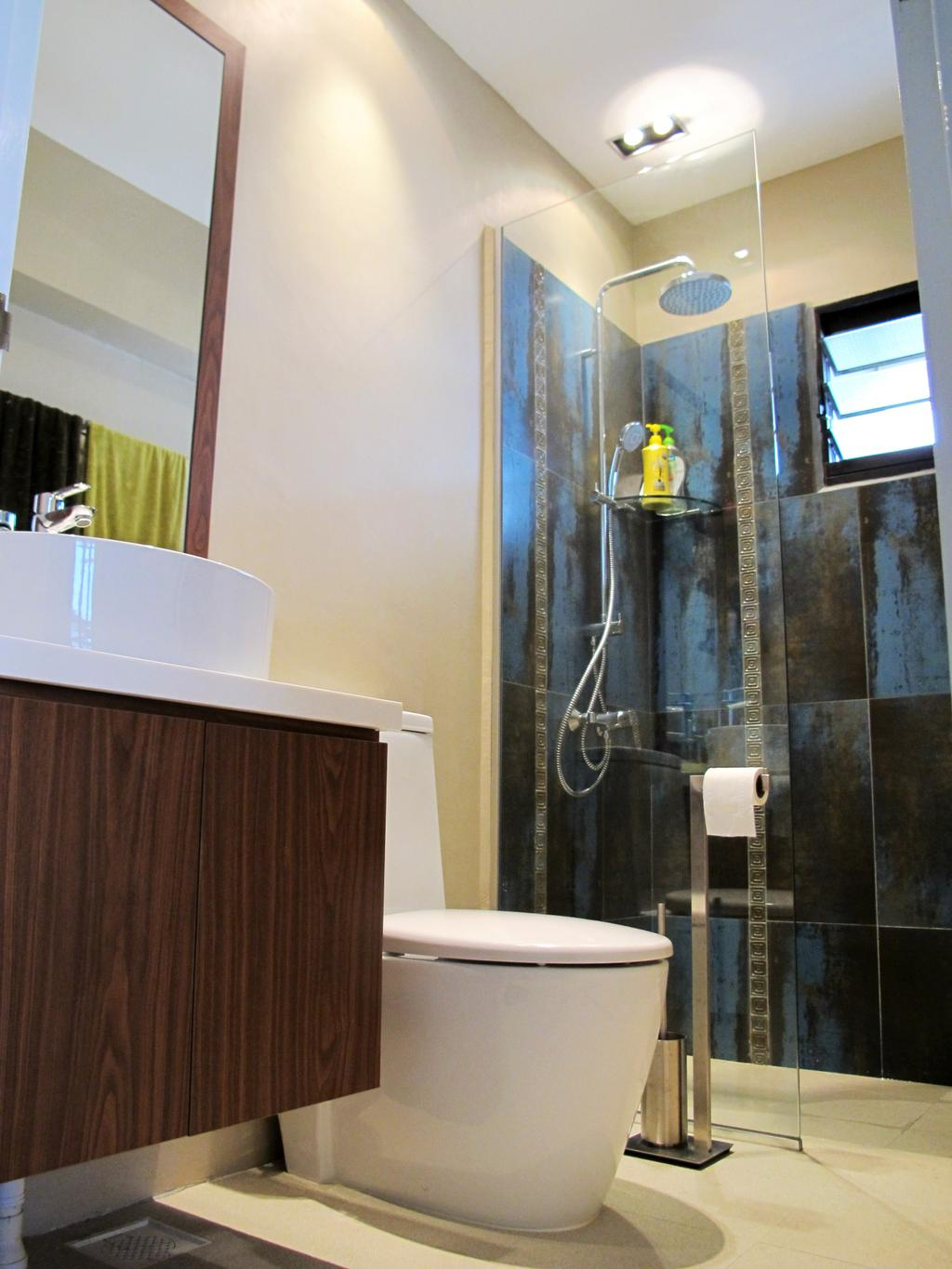 Eclectic, HDB, Bathroom, Jalan Membina, Interior Designer, Colourbox Interior