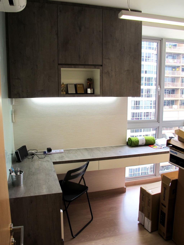 Eclectic, Condo, Study, Austville Residences, Interior Designer, Colourbox Interior, Shelf