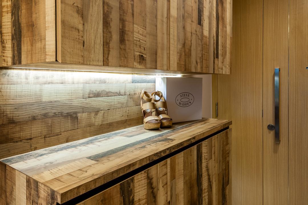 Ripple Bay, Le Interi, Contemporary, Living Room, Condo, Lumber, Wood
