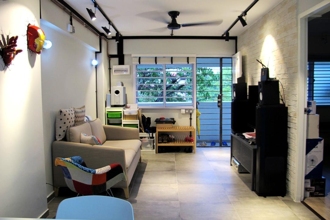Toa Payoh North Living Room Interior Design 2