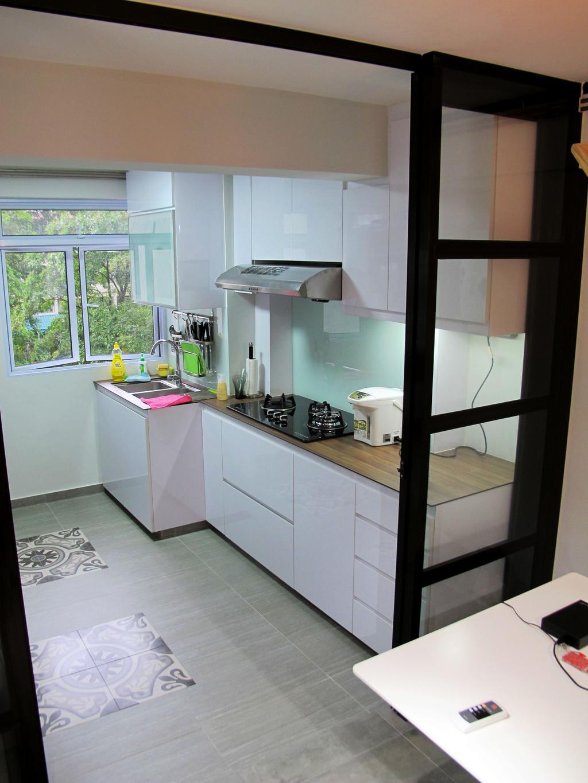 Eclectic, HDB, Kitchen, Toa Payoh North, Interior Designer, Colourbox Interior, Indoors, Interior Design, Room
