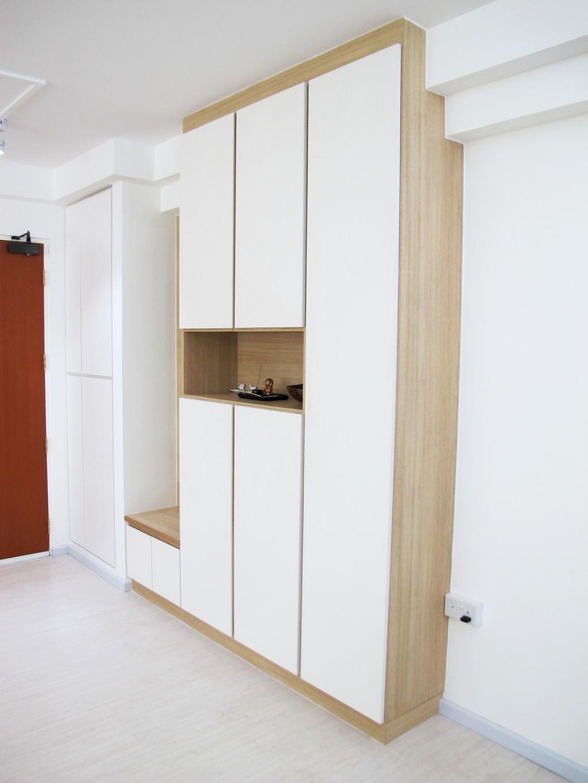 Minimalistic, HDB, Living Room, Anchorvale Harvest, Interior Designer, Colourbox Interior