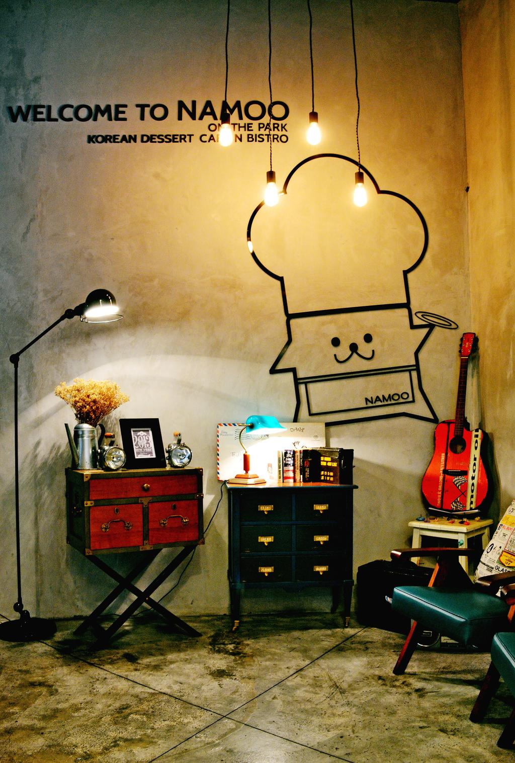 Namoo, Commercial, Interior Designer, Zyon Studio Sdn. Bhd., Modern, Flora, Jar, Plant, Potted Plant, Pottery, Vase, Electric Guitar, Guitar, Leisure Activities, Music, Musical Instrument