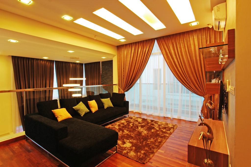 Modern, Landed, Living Room, Sean Residence, Interior Designer, Zyon Studio Sdn. Bhd., Indoors, Room, Interior Design