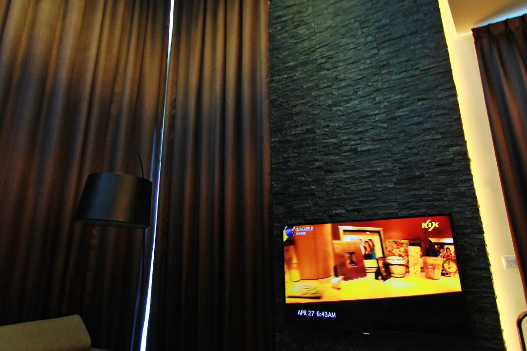 Sean Residence, Zyon Studio Sdn. Bhd., Modern, Living Room, Landed, Photo Booth