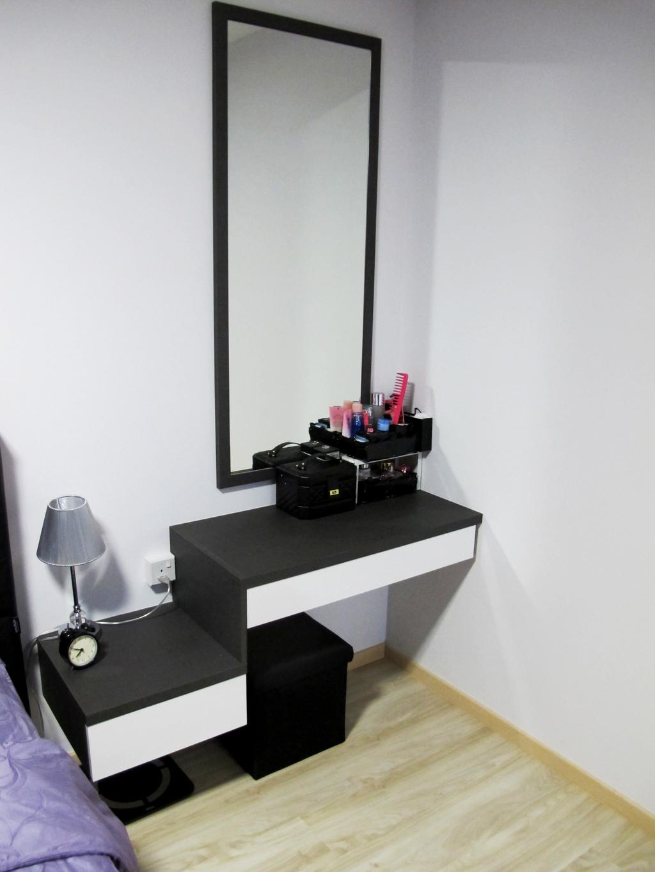 Scandinavian, HDB, Bedroom, Punggol Way, Interior Designer, Colourbox Interior