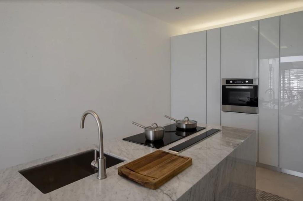 Modern, Landed, Kitchen, Setia Pearl Villa, Interior Designer, Nevermore Group, Appliance, Electrical Device, Oven
