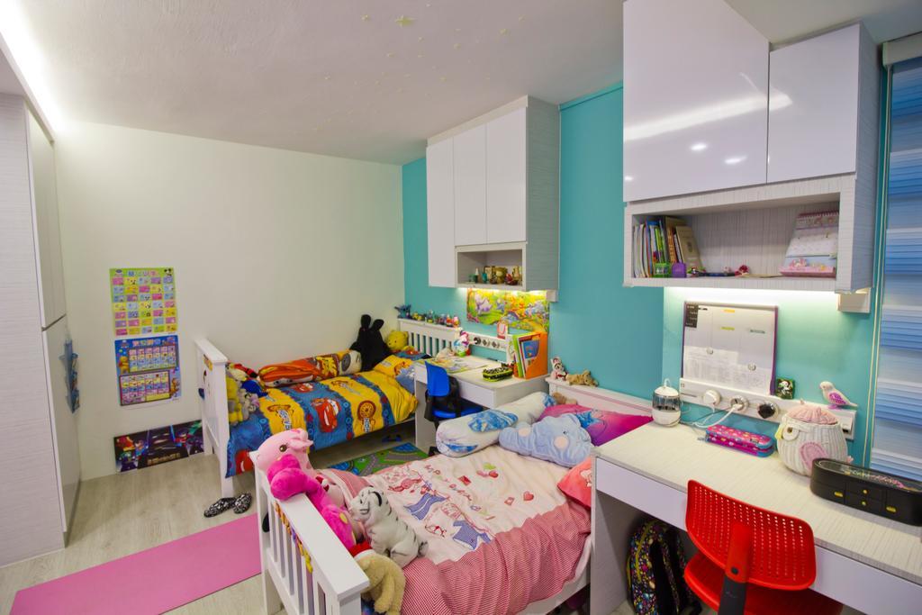 Modern, Condo, Bedroom, Hacienda Grove, Interior Designer, MET Interior, Indoors, Nursery, Room, Interior Design