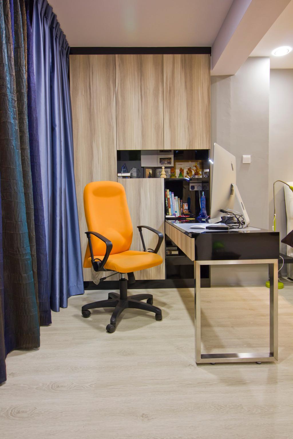 Modern, Condo, Bedroom, Hacienda Grove, Interior Designer, MET Interior, Chair, Furniture, Sink