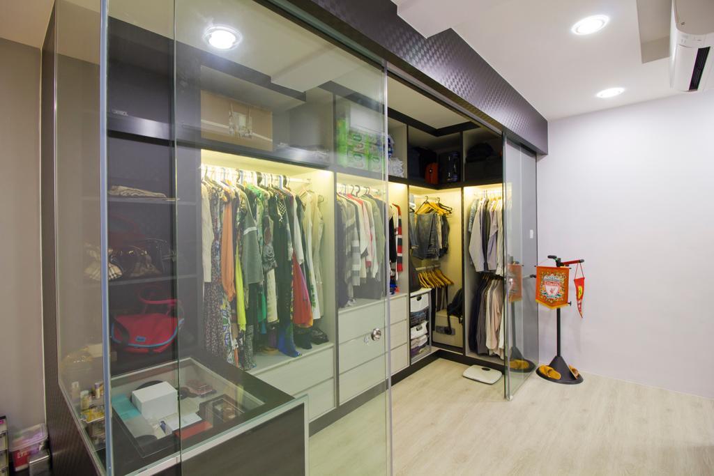 Modern, Condo, Bedroom, Hacienda Grove, Interior Designer, MET Interior