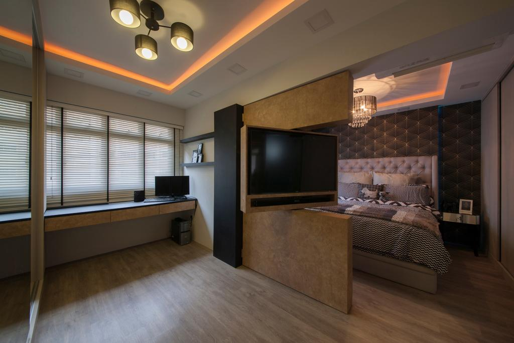 Scandinavian, HDB, Bedroom, Tampines Avenue 8 (Block 869B), Interior Designer, Le Interi