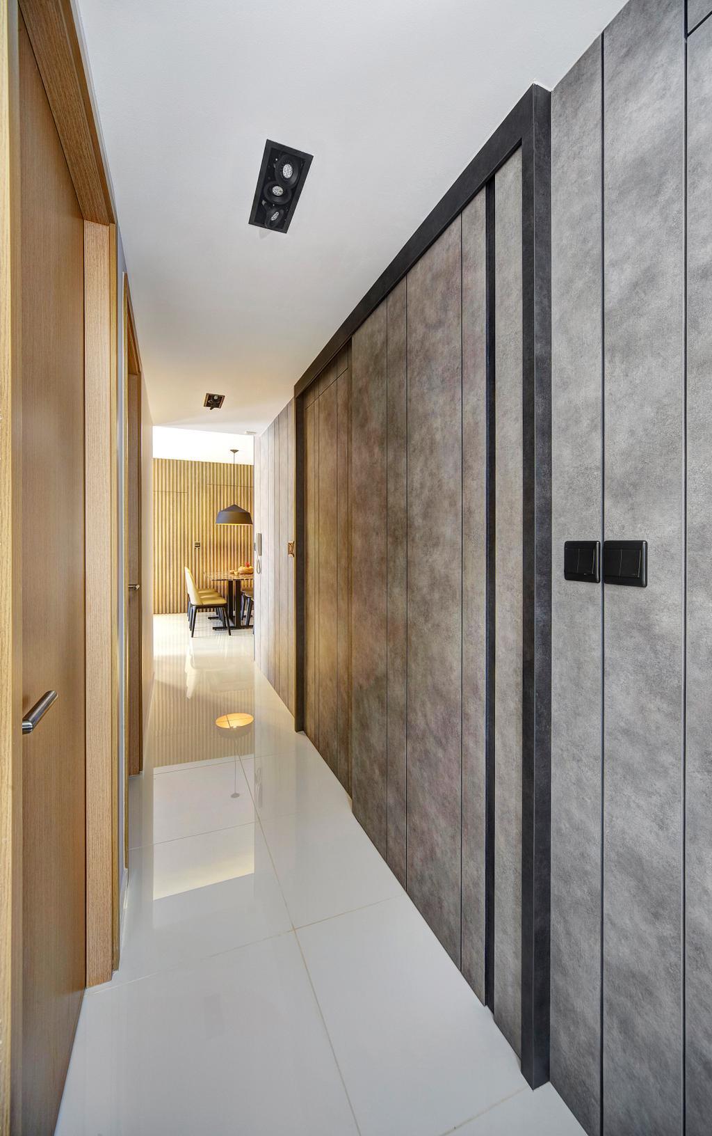 Contemporary, Condo, Living Room, Twin Waterfalls, Interior Designer, Notion of W, Modern