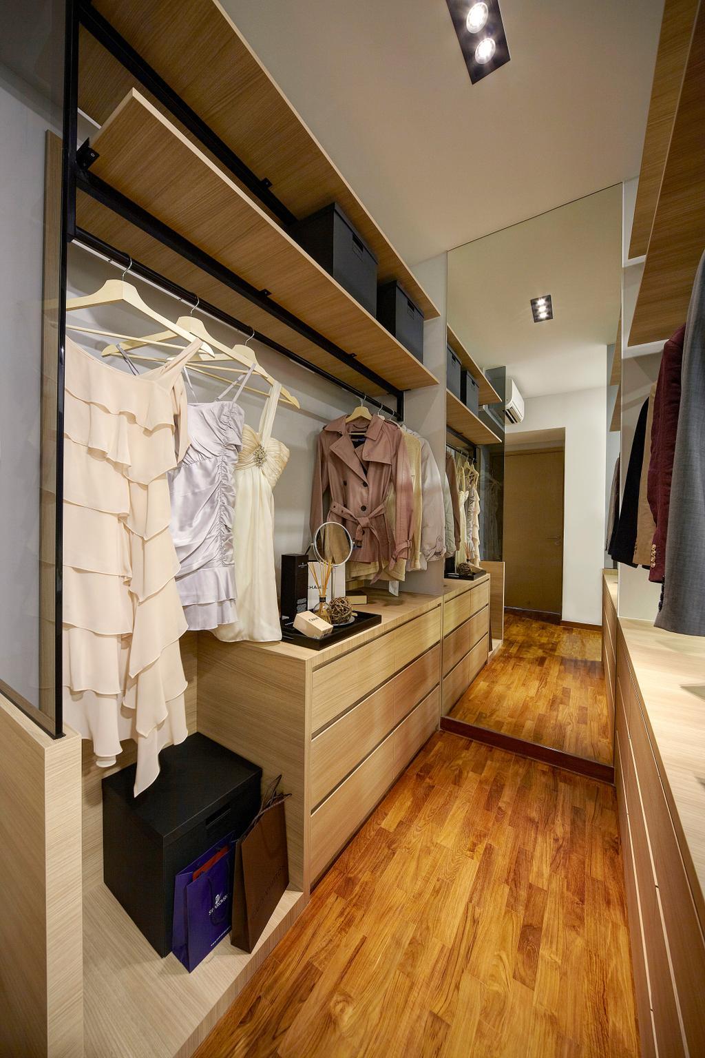 Contemporary, Condo, Bedroom, Twin Waterfalls, Interior Designer, Notion of W, Modern, Coat Rack, Flooring