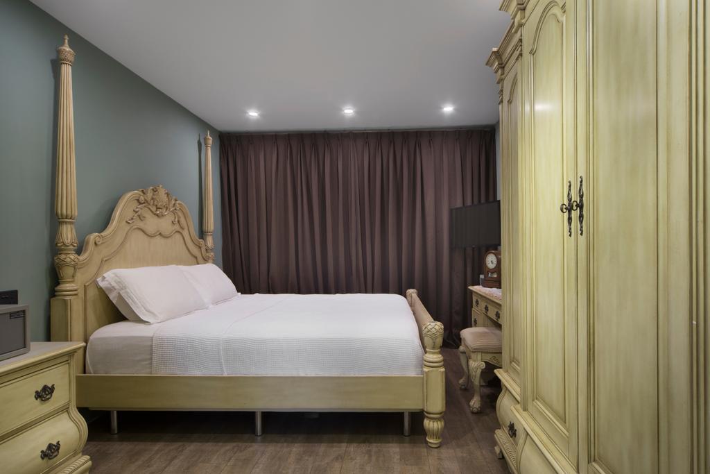 HDB, Bedroom, Dakota Crescent, Interior Designer, The Scientist, Toilet, Bed, Furniture, Indoors, Interior Design