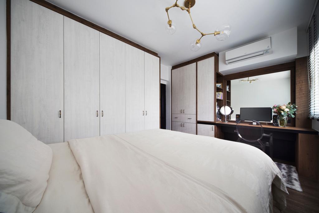 HDB, Bedroom, Dakota Crescent, Interior Designer, The Scientist, Indoors, Interior Design, Room