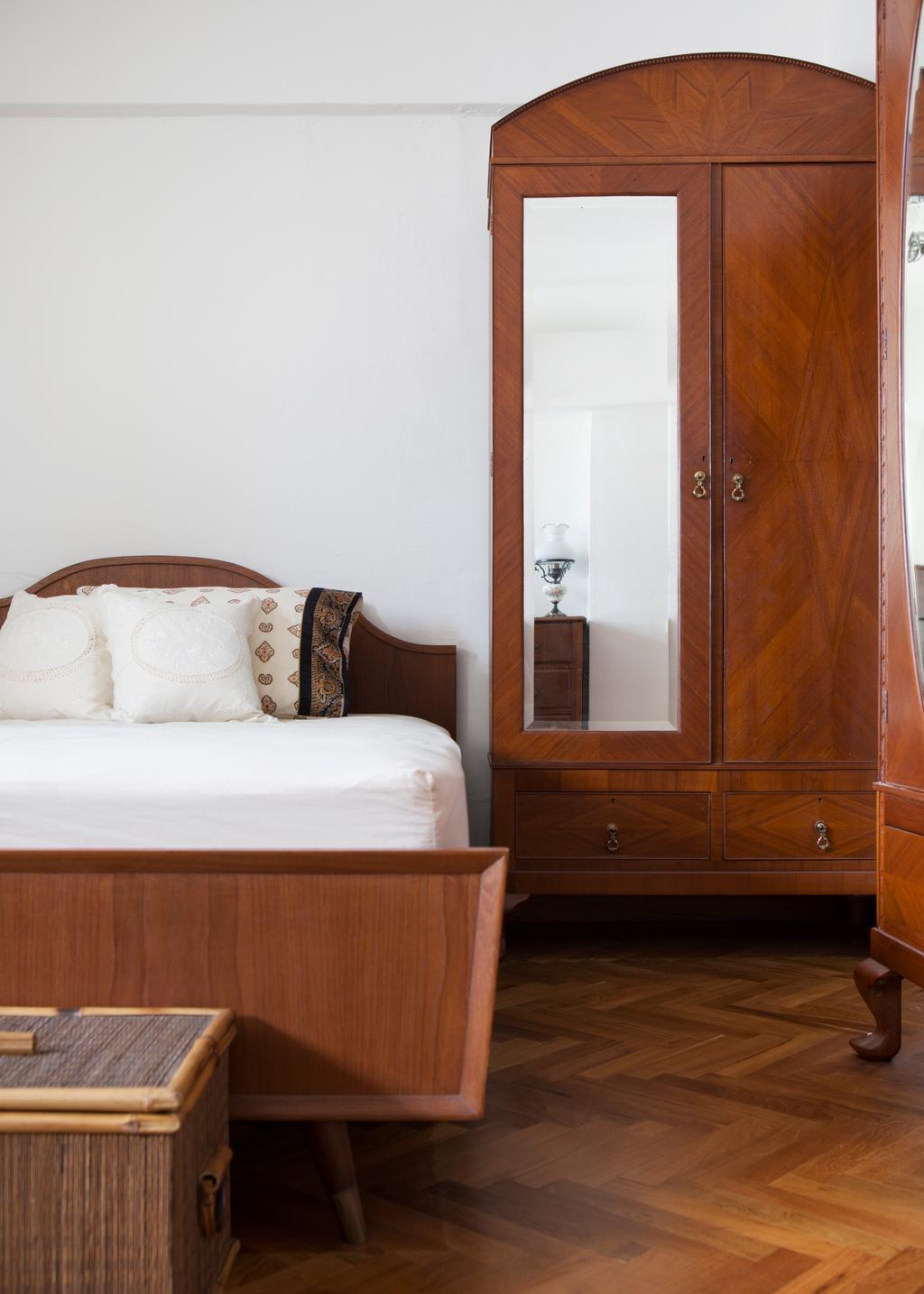 Eclectic, HDB, Bedroom, Serangoon Avenue 2 (Block 310), Interior Designer, The Scientist, Retro, Bed, Furniture