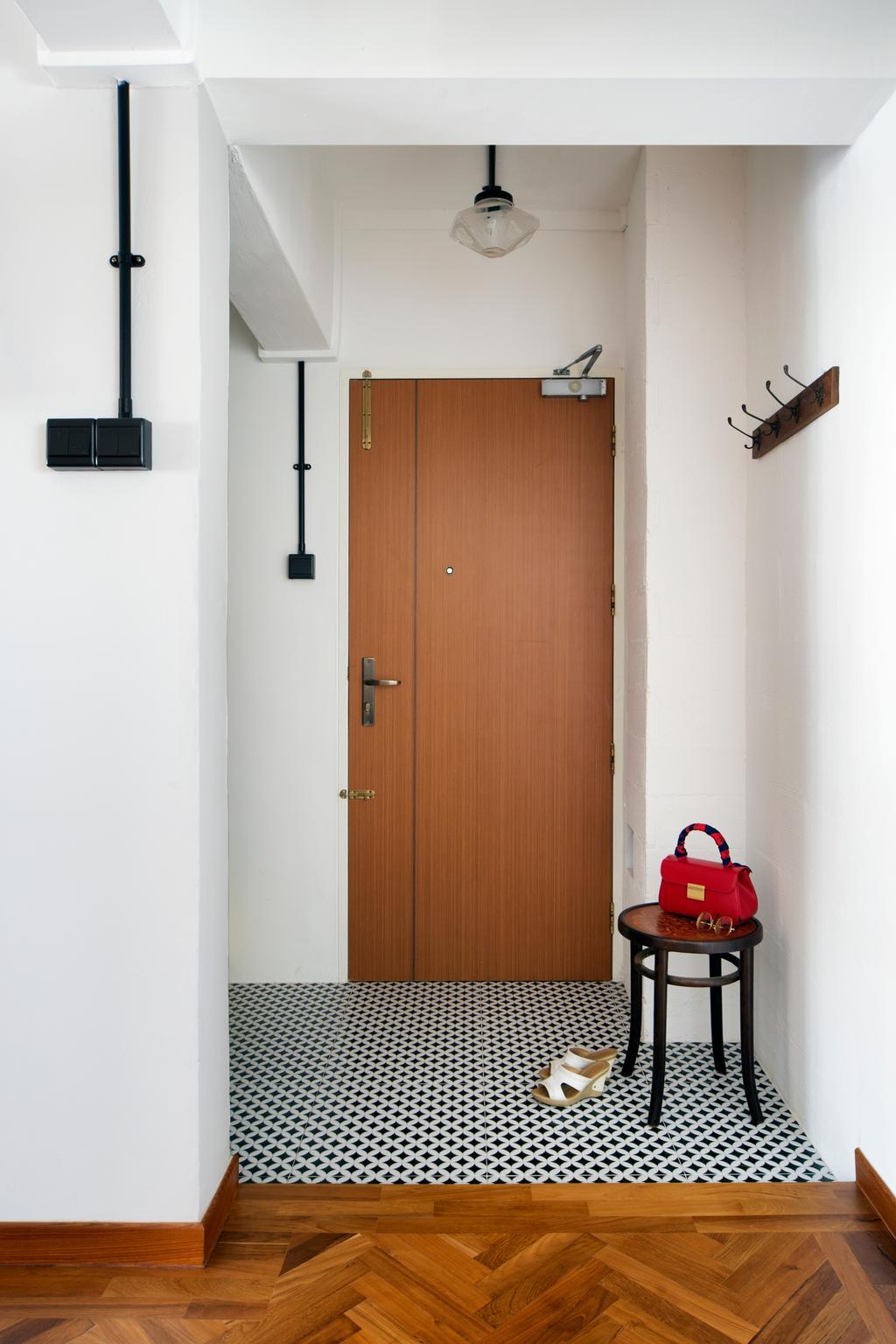 Eclectic, HDB, Living Room, Serangoon Avenue 2 (Block 310), Interior Designer, The Scientist, Retro, Accessories, Bag, Handbag, Purse