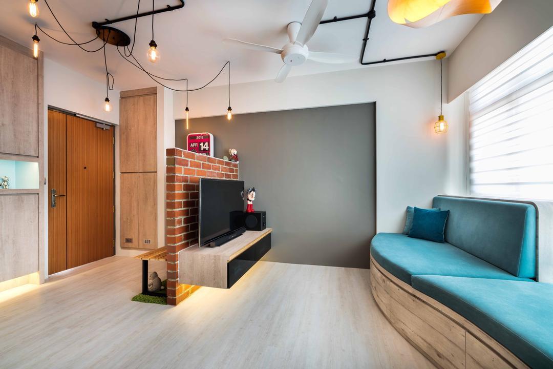 Wall Mount Tv Console | Interior Design Singapore | Interior