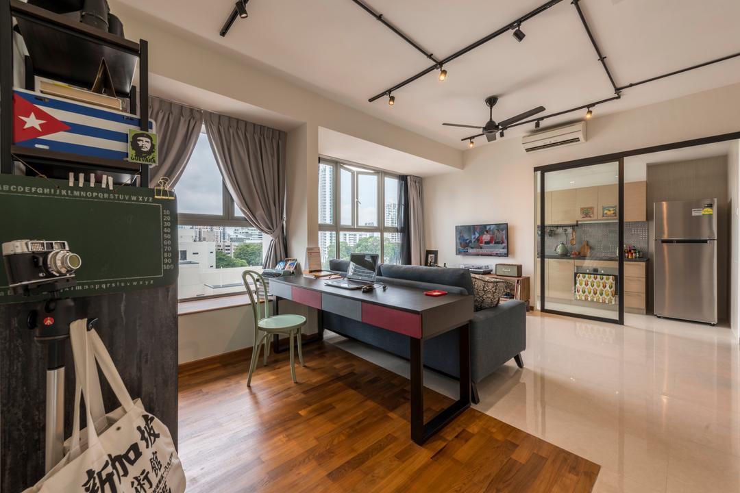 Modern Contemporary Study Room Interior Design Singapore