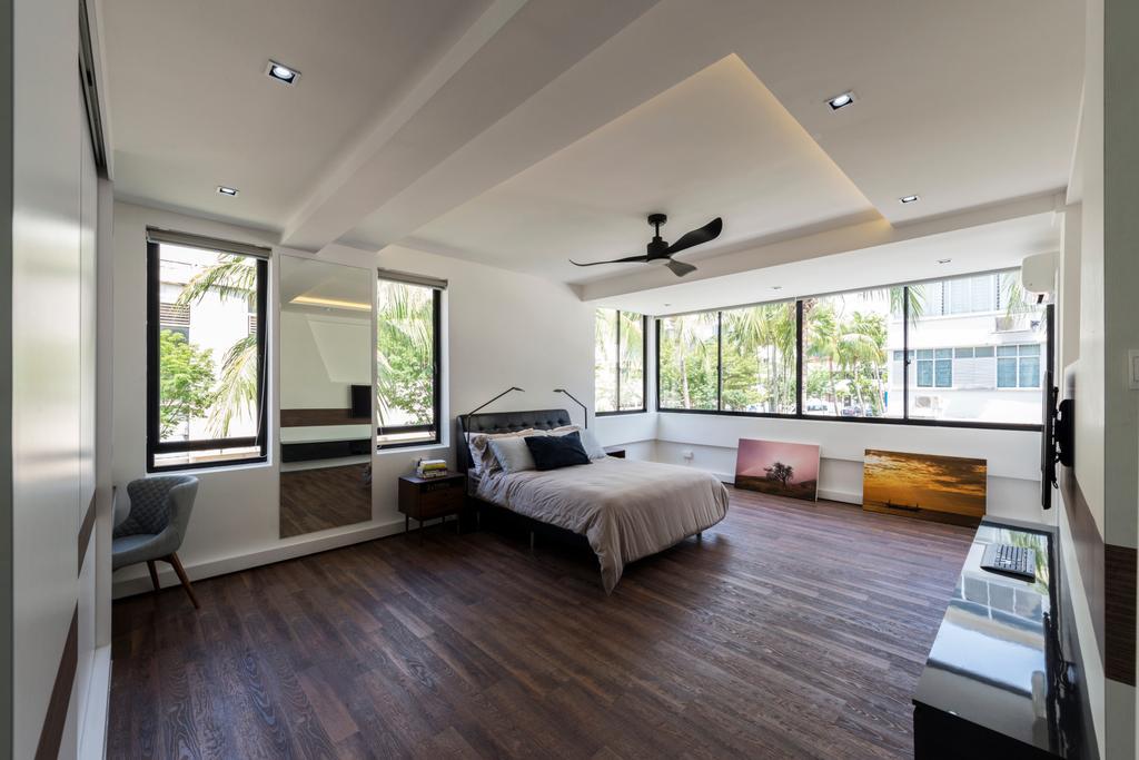 Contemporary, HDB, Bedroom, Kim Cheng Street, Interior Designer, Metamorph Design, Indoors, Interior Design