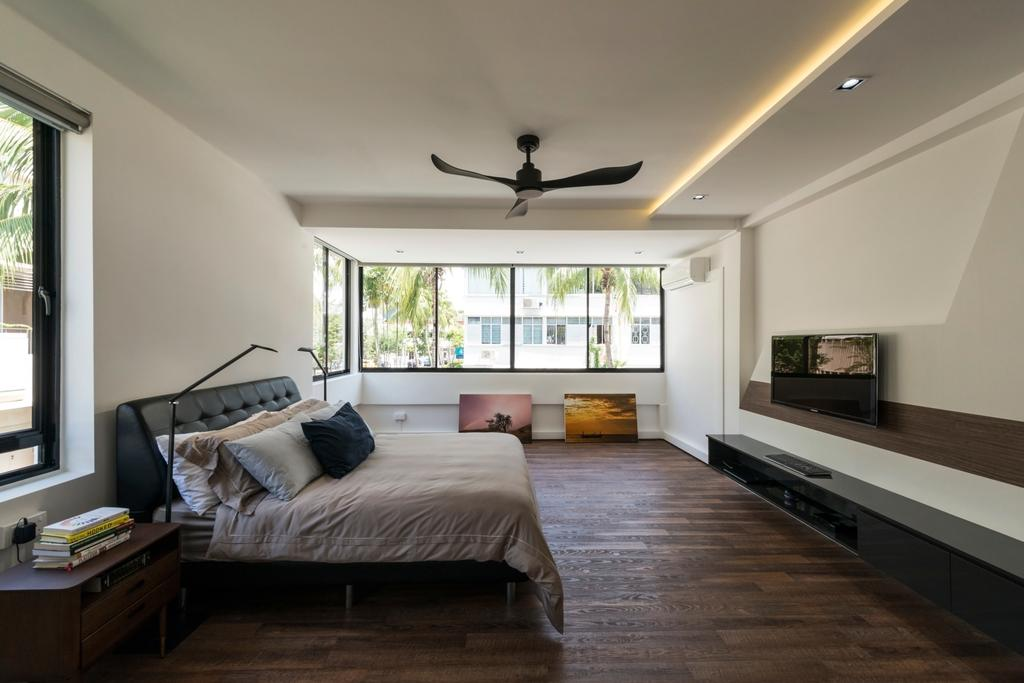 Contemporary, HDB, Bedroom, Kim Cheng Street, Interior Designer, Metamorph Design, Indoors, Interior Design, Room