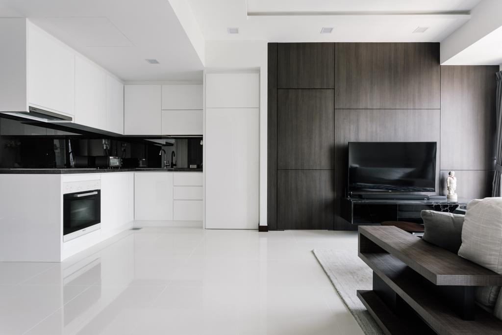 Modern, Condo, Living Room, The Sail @ Marina Bay, Interior Designer, Metamorph Design, Couch, Furniture, HDB, Building, Housing, Indoors, Loft, Room