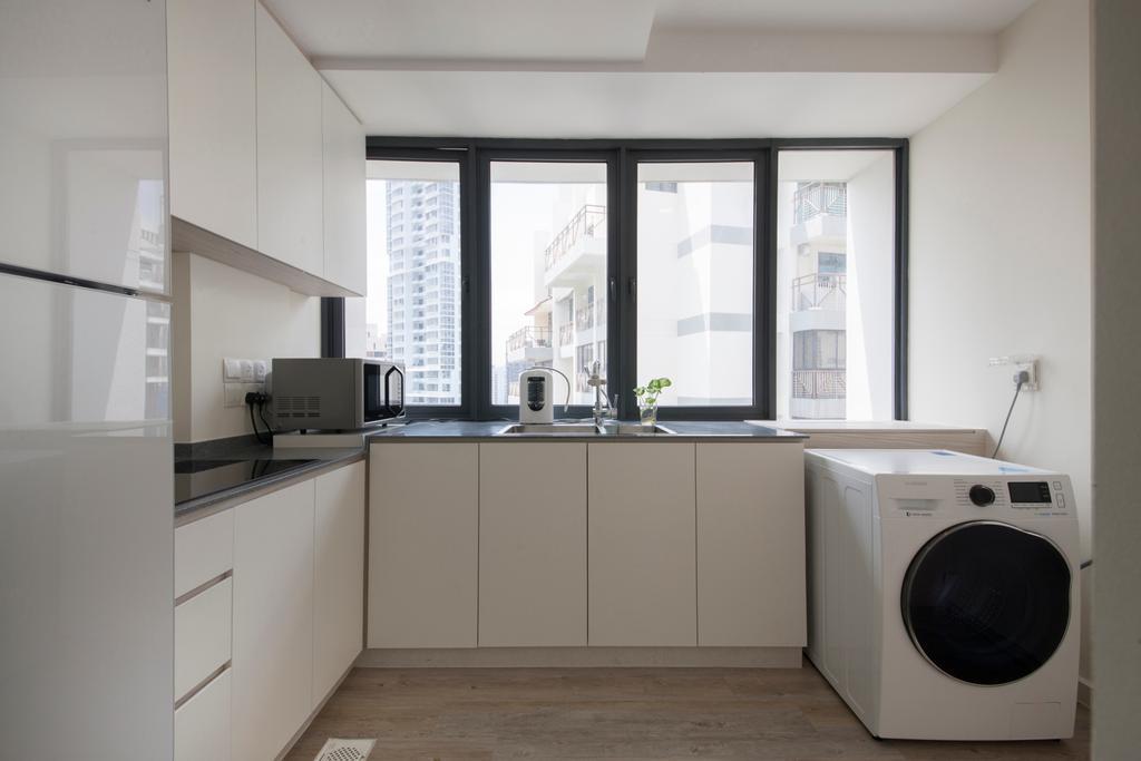 Modern Kitchen Design Top View
