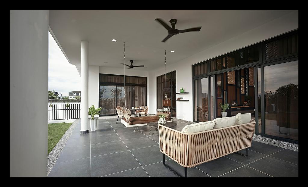 Modern, Landed, Garden, Horizon Hill, Interior Designer, Oriwise Sdn Bhd, Contemporary