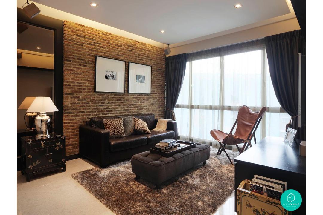 Ansana-Gardenvista_living-room-brick-wall