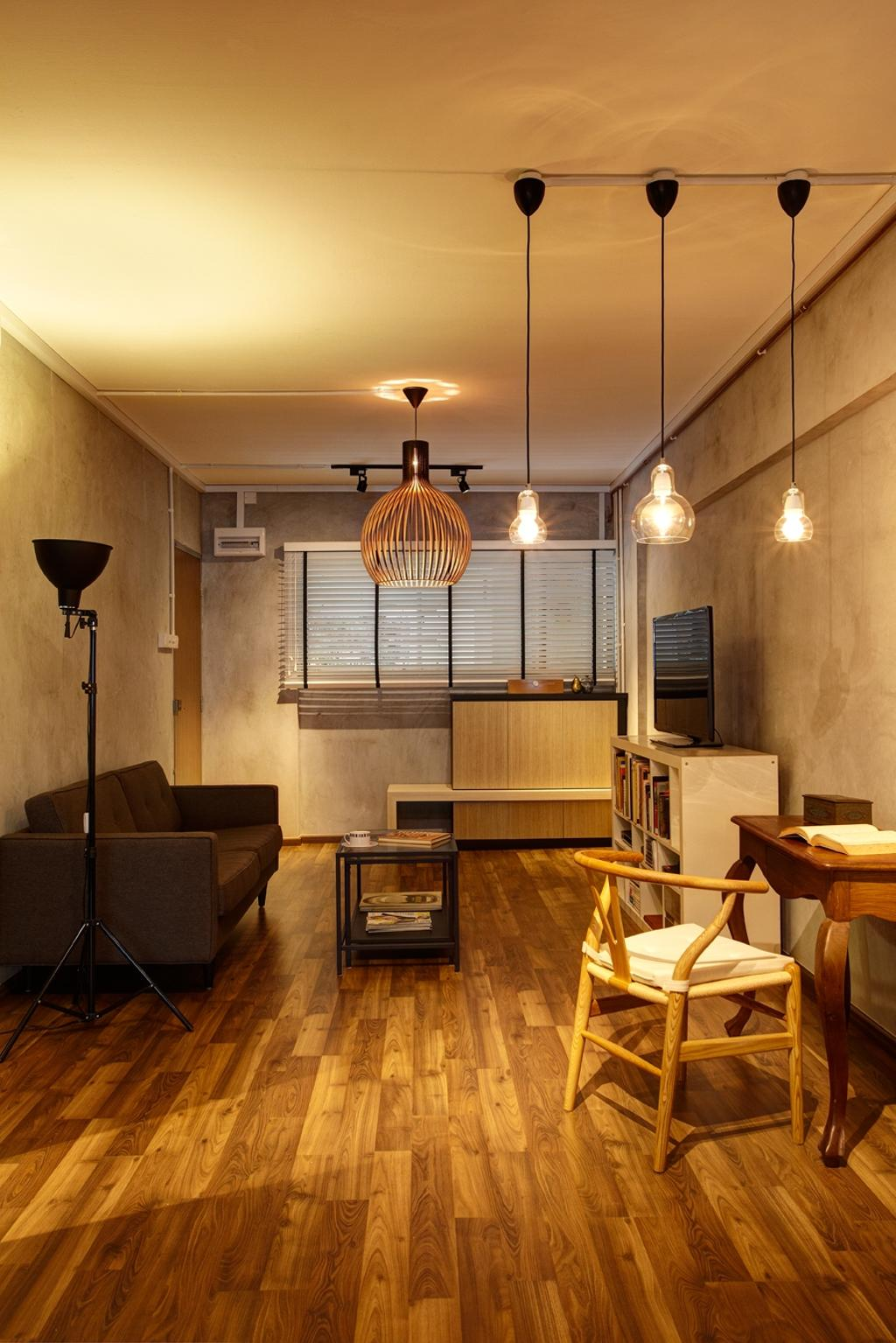 Industrial Study Room: Interior Design Singapore