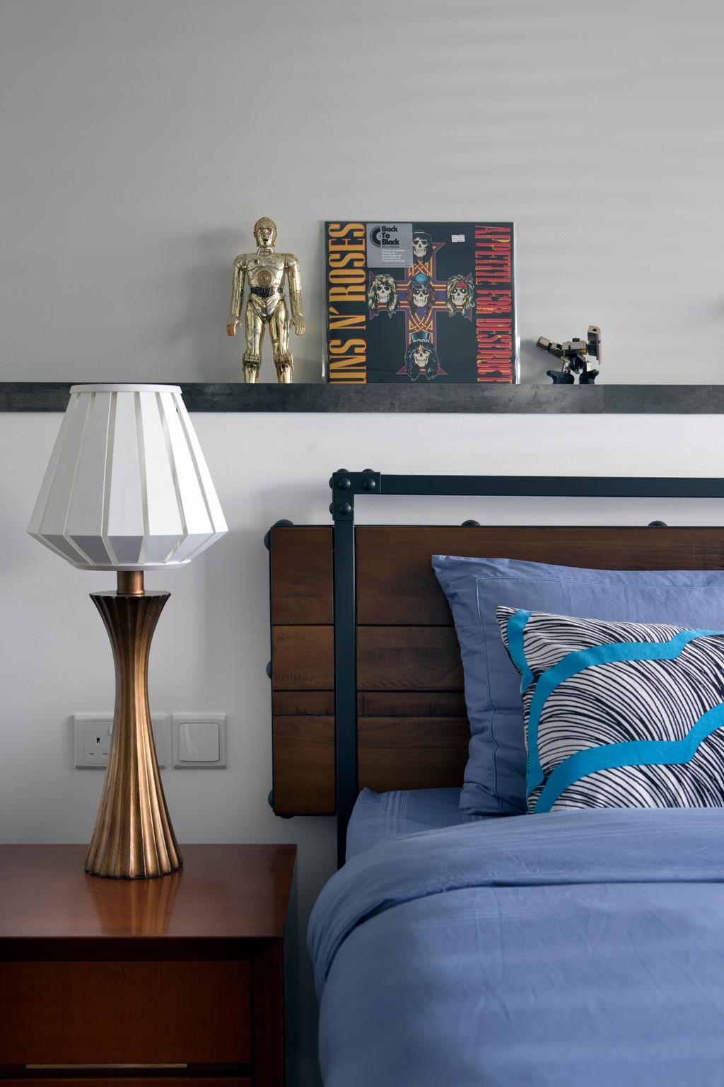 Scandinavian, HDB, Bedroom, Punggol Walk, Interior Designer, Fuse Concept