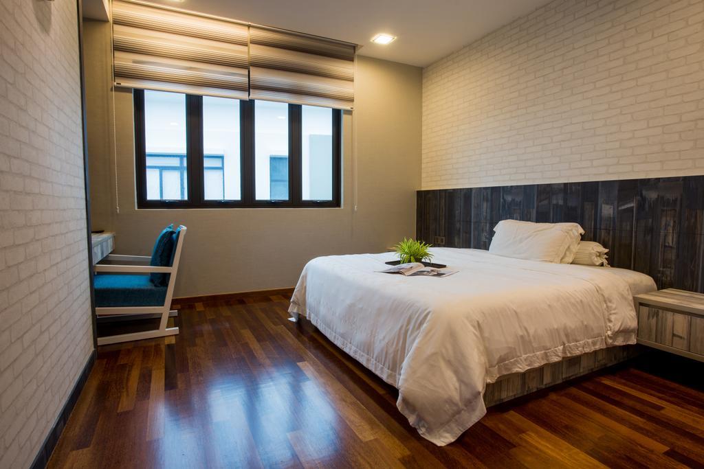 Modern, Landed, Bedroom, The Hills, Interior Designer, Sky Creation, Contemporary, Bed, Furniture, Indoors, Room, Flooring