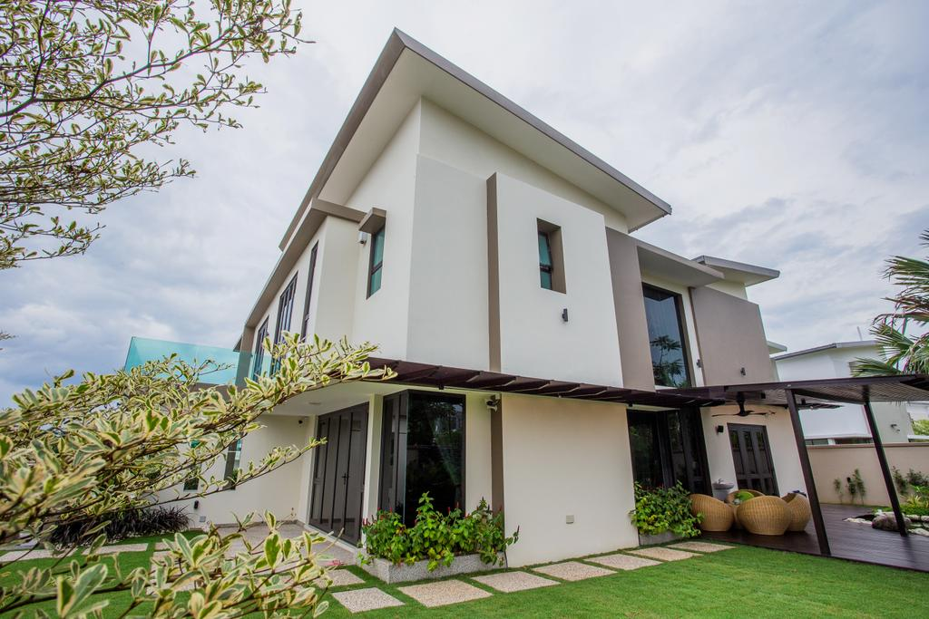 Modern, Landed, The Hills, Interior Designer, Sky Creation, Contemporary, Building, Cottage, House, Housing, Villa