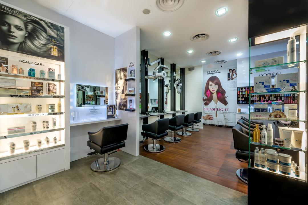 Salan Studio, One Design Werkz, Modern, Commercial, Display Shelf, See Through Display Shelf, Open Shel