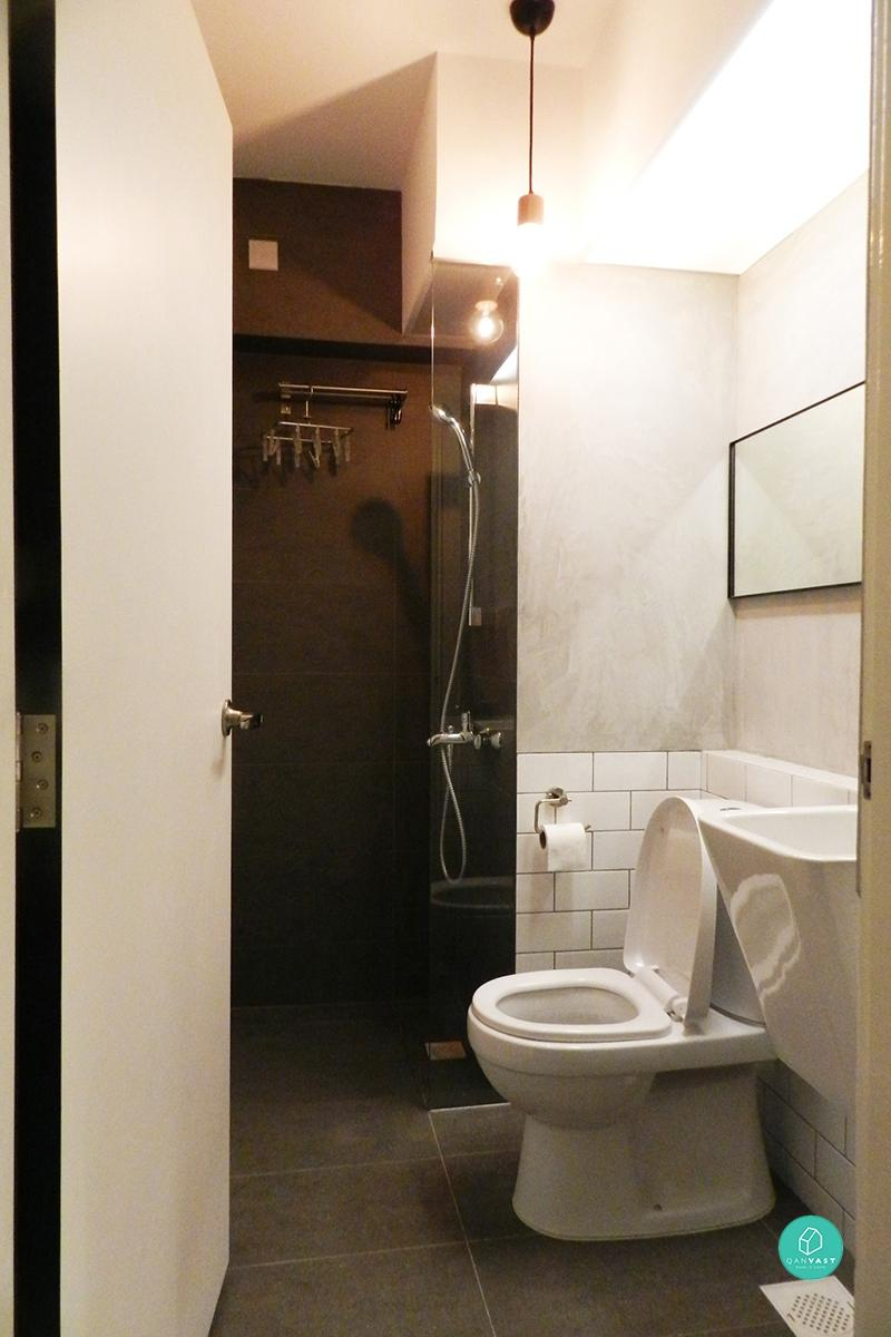 Coastal Design 2 Room Bto Flat: 9 HDB Bathroom Makeovers For Every Budget