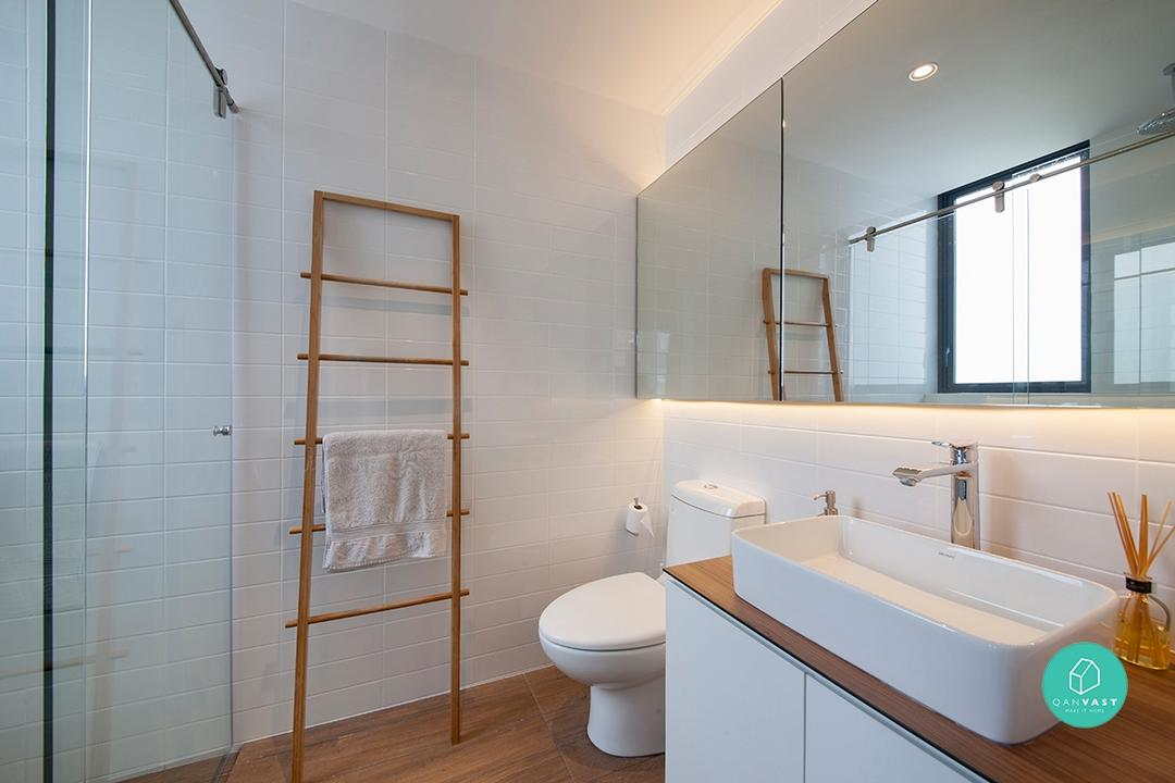9 HDB Bathroom Makeovers For Every Budget 11