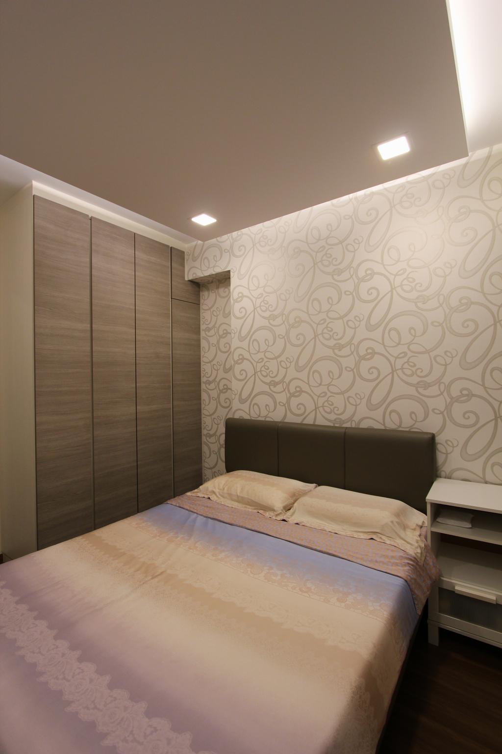 Modern, HDB, Bedroom, Punggol (Block 261A), Interior Designer, Beaux Monde, Chair, Furniture, Indoors, Interior Design