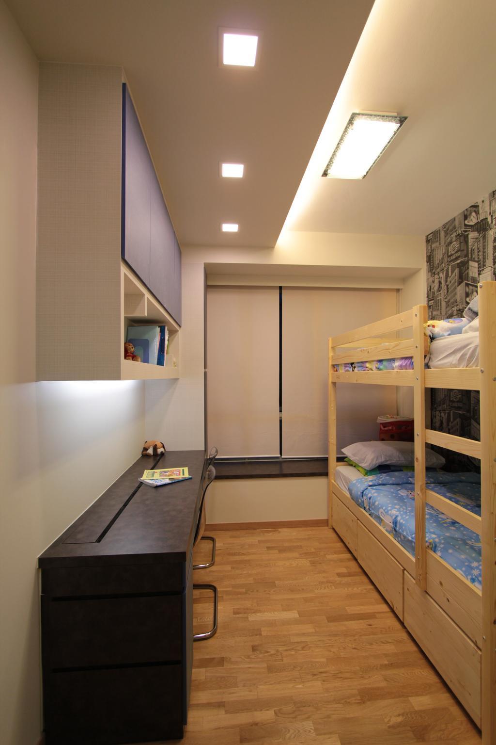 Contemporary, Condo, Bedroom, Ferrera Park, Interior Designer, Beaux Monde, Building, Hostel, Housing
