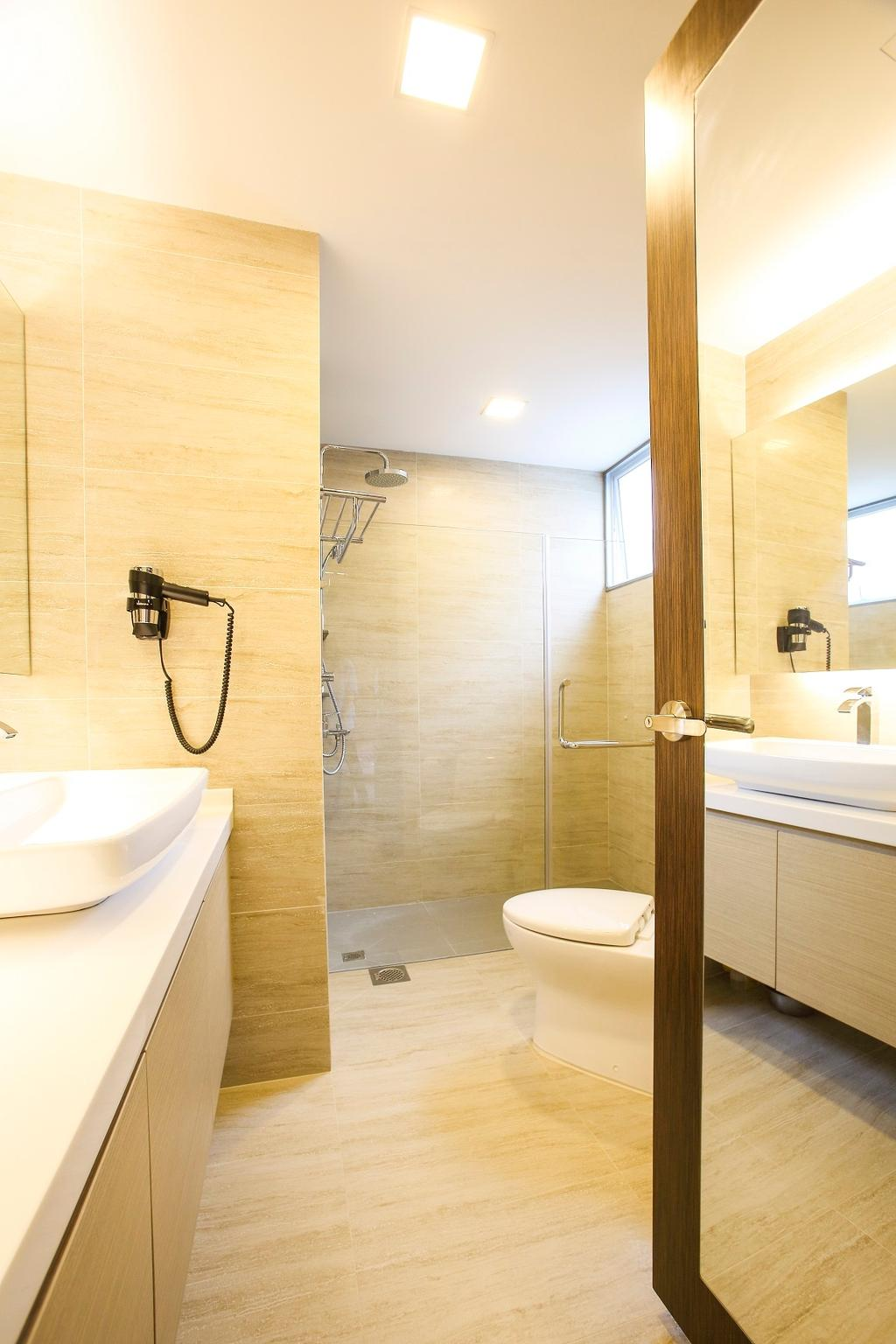 Contemporary, Condo, Bathroom, Flora Road, Interior Designer, Beaux Monde, Indoors, Interior Design, Room, Sink, Toilet