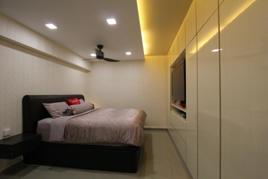Contemporary, HDB, Bedroom, Hougang Street 51, Interior Designer, Beaux Monde, Sink