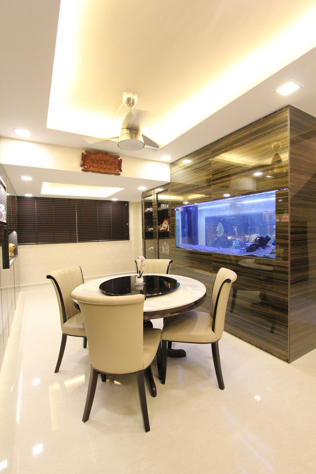 Contemporary, HDB, Dining Room, Hougang Street 51, Interior Designer, Beaux Monde, Chair, Furniture, Indoors, Interior Design