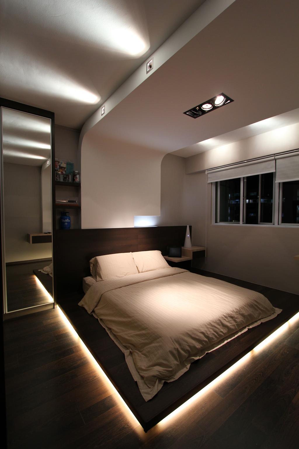 Modern, HDB, Bedroom, Tampines, Interior Designer, Beaux Monde
