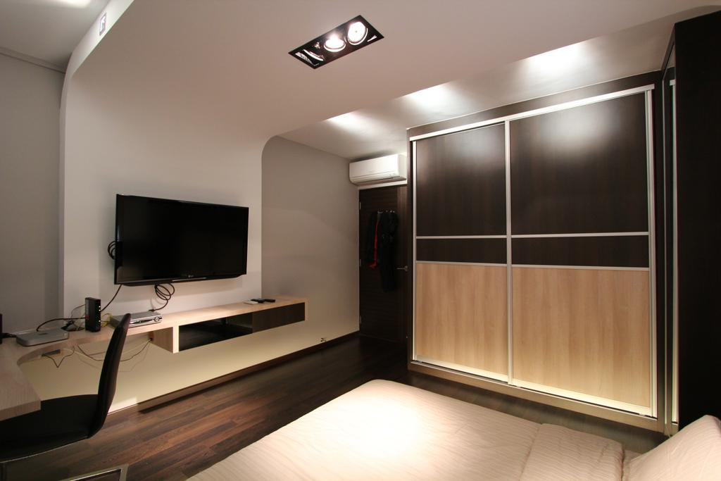 Modern, HDB, Bedroom, Tampines, Interior Designer, Beaux Monde, Indoors, Interior Design