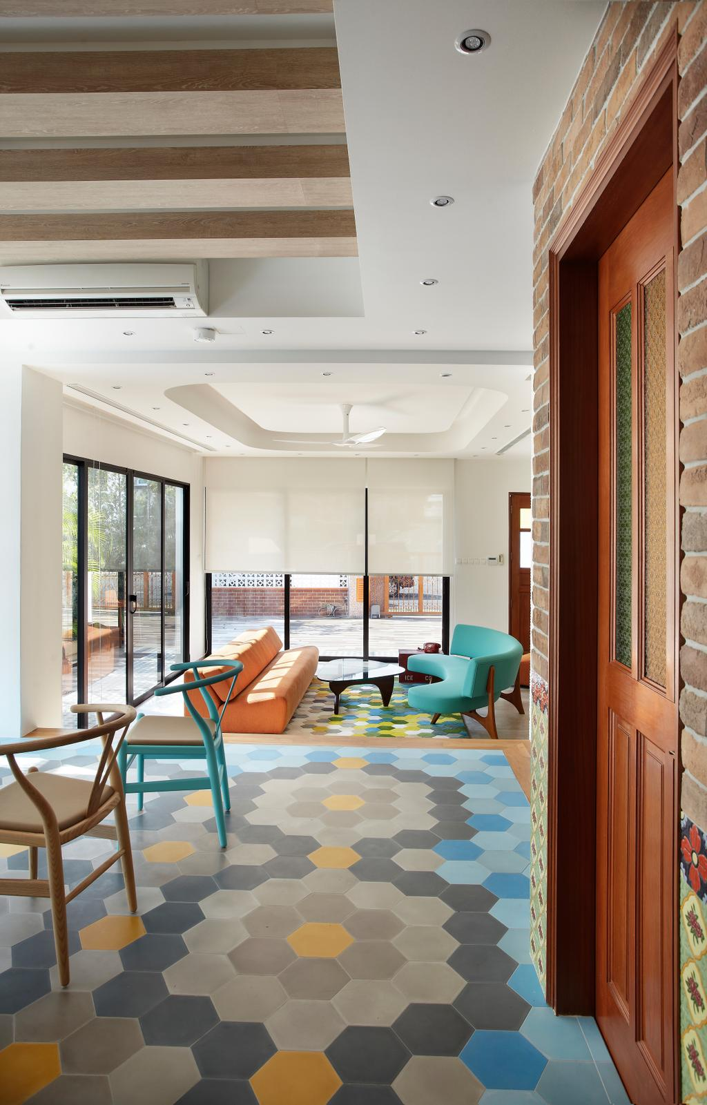 Eclectic, Landed, Living Room, Aroozoo, Interior Designer, Free Space Intent, Chair, Furniture, Dining Room, Indoors, Interior Design, Room