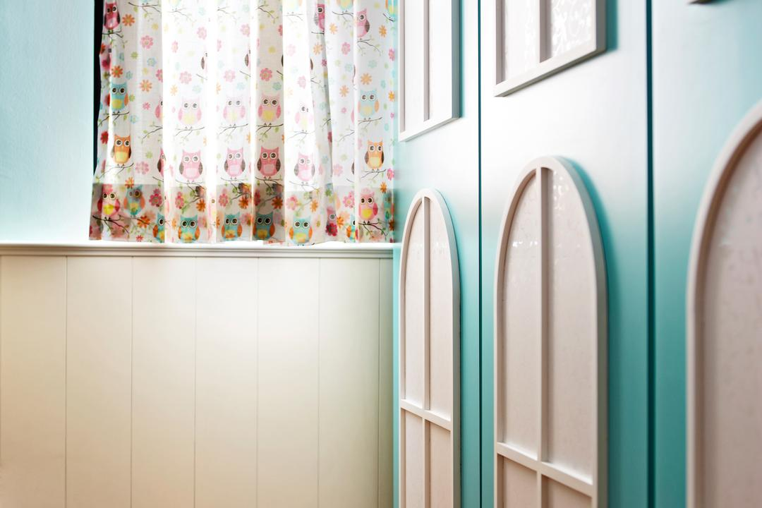 Aroozoo, Free Space Intent, Eclectic, Bedroom, Landed, Curtain, Home Decor, Shower Curtain