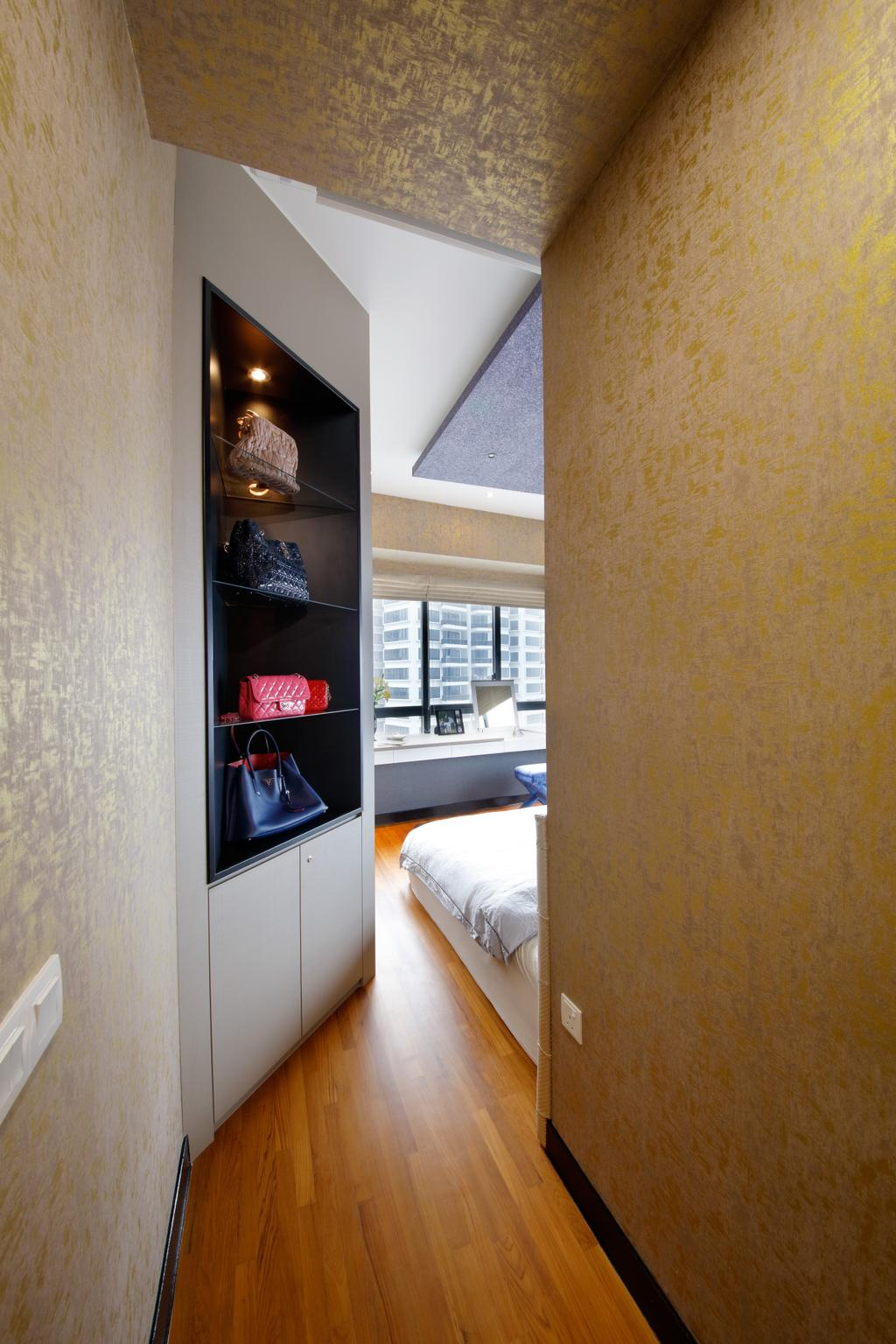 Modern, Condo, Bedroom, D'Leedon, Interior Designer, Free Space Intent, Eclectic, Contemporary, Animal, Cockroach, Insect, Invertebrate