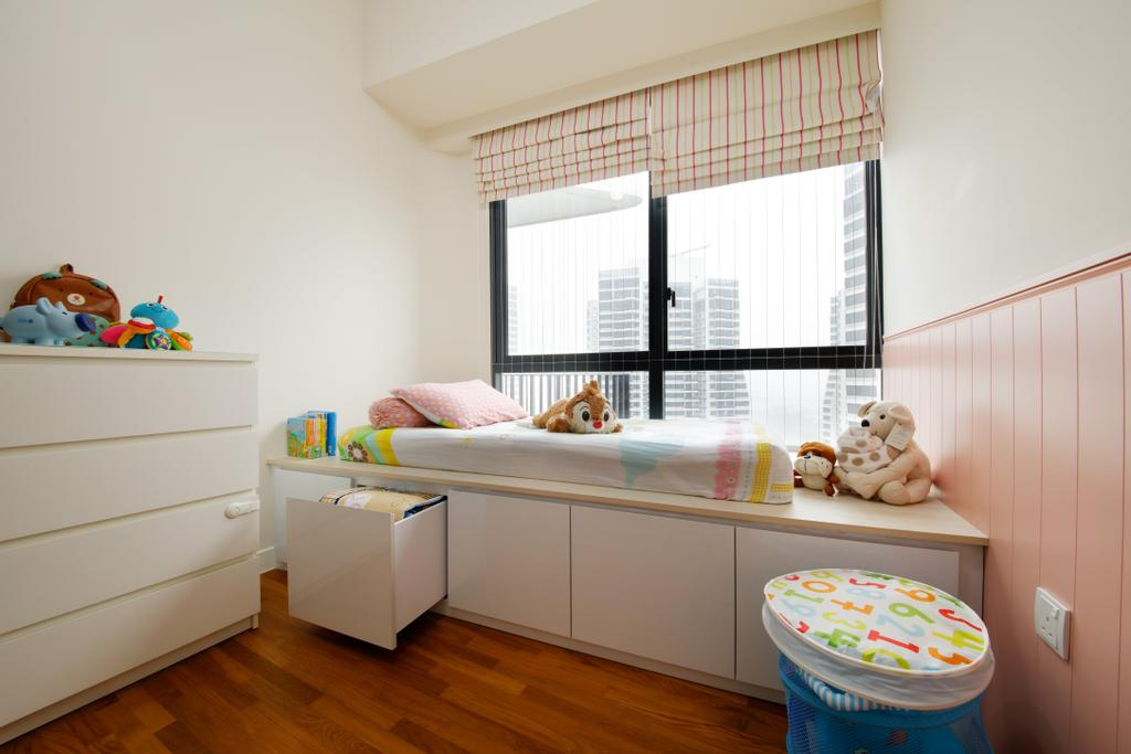 Modern, Condo, Bedroom, D'Leedon, Interior Designer, Free Space Intent, Eclectic, Contemporary