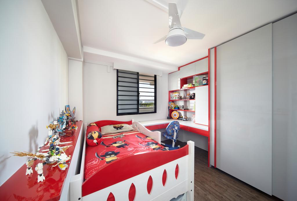 Modern, HDB, Bedroom, Haig Road, Interior Designer, Free Space Intent, Eclectic, Indoors, Interior Design, Room