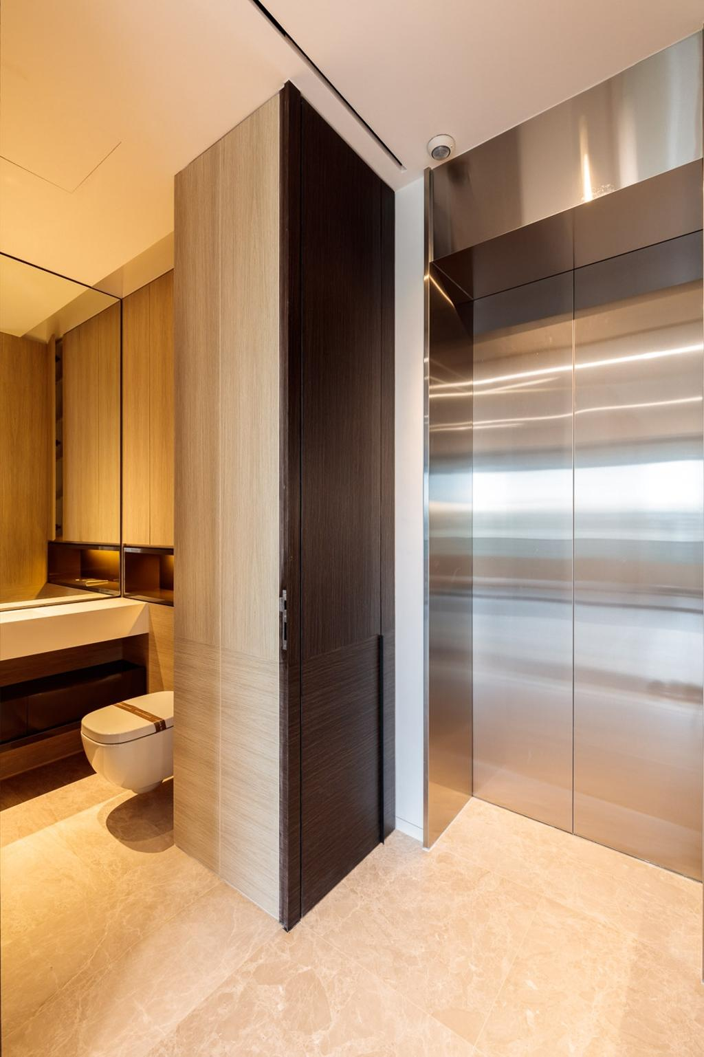 Minimalistic, Condo, Bathroom, Leedon Residences, Interior Designer, Ark Interior